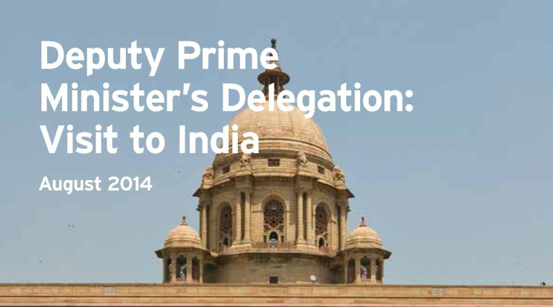 Deputy Prime Minister's Deligation to India