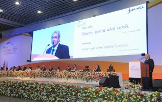 Jaivel Aerospace CEO shares his experience at Vibrant Gujarat Global Summit-2017